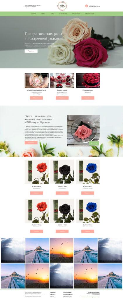 Долгосвежая роза Florich — неувядающая 5 лет